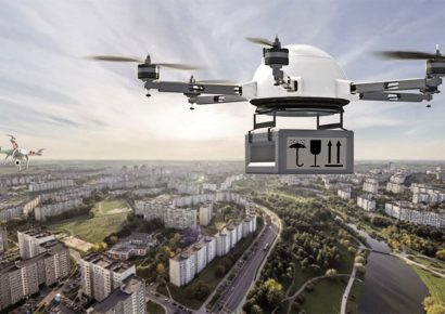 Возможна ли курьерская доставка дроном