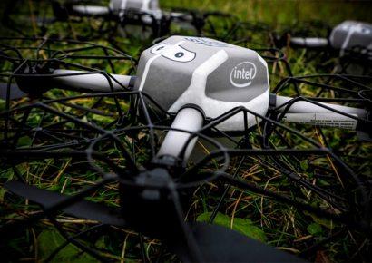 Intel обезопасит полеты дронов с помощью Bluetooth
