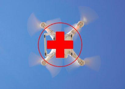 Медицинский дрон для спасения людей
