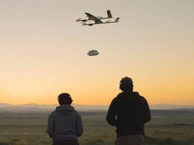 Wing, Alphabet - Новости беспилотной авиации - БасТех Иркутск