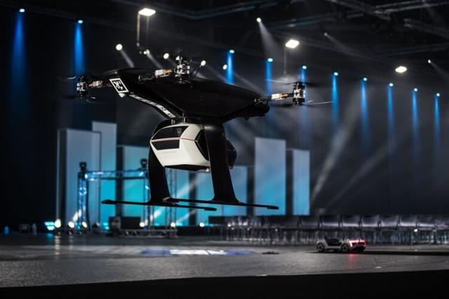 Прототип летающего такси Audi, Airbus и Italdesign