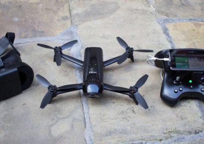 Дрон Parrot Bebop 2 Power FPV: продолжительность полета в 1 час