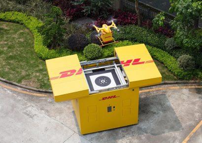 DHL Express запустила маршрут автоматизированной доставки с помощью дронов в Китае