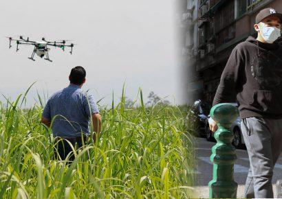 В Китае применяют дроны для дезинфекции от коронавируса
