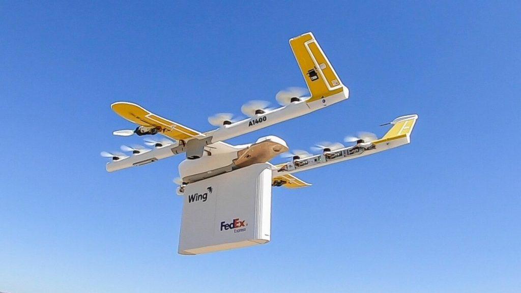 Доставка дронами Alphabet Wing пользуется большим успехом на фоне карантина