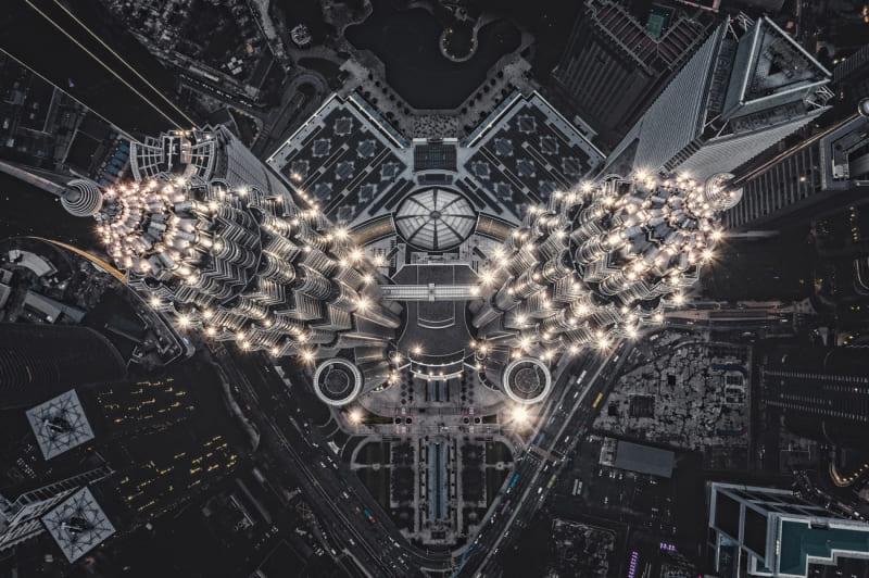 Съемка с дрона