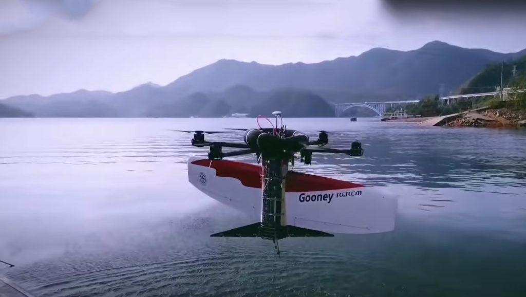Воздушно-подводный беспилотник был создан китайскими инженерами