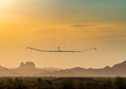 Псевдоспутник Zephyr S установил рекорд высоты